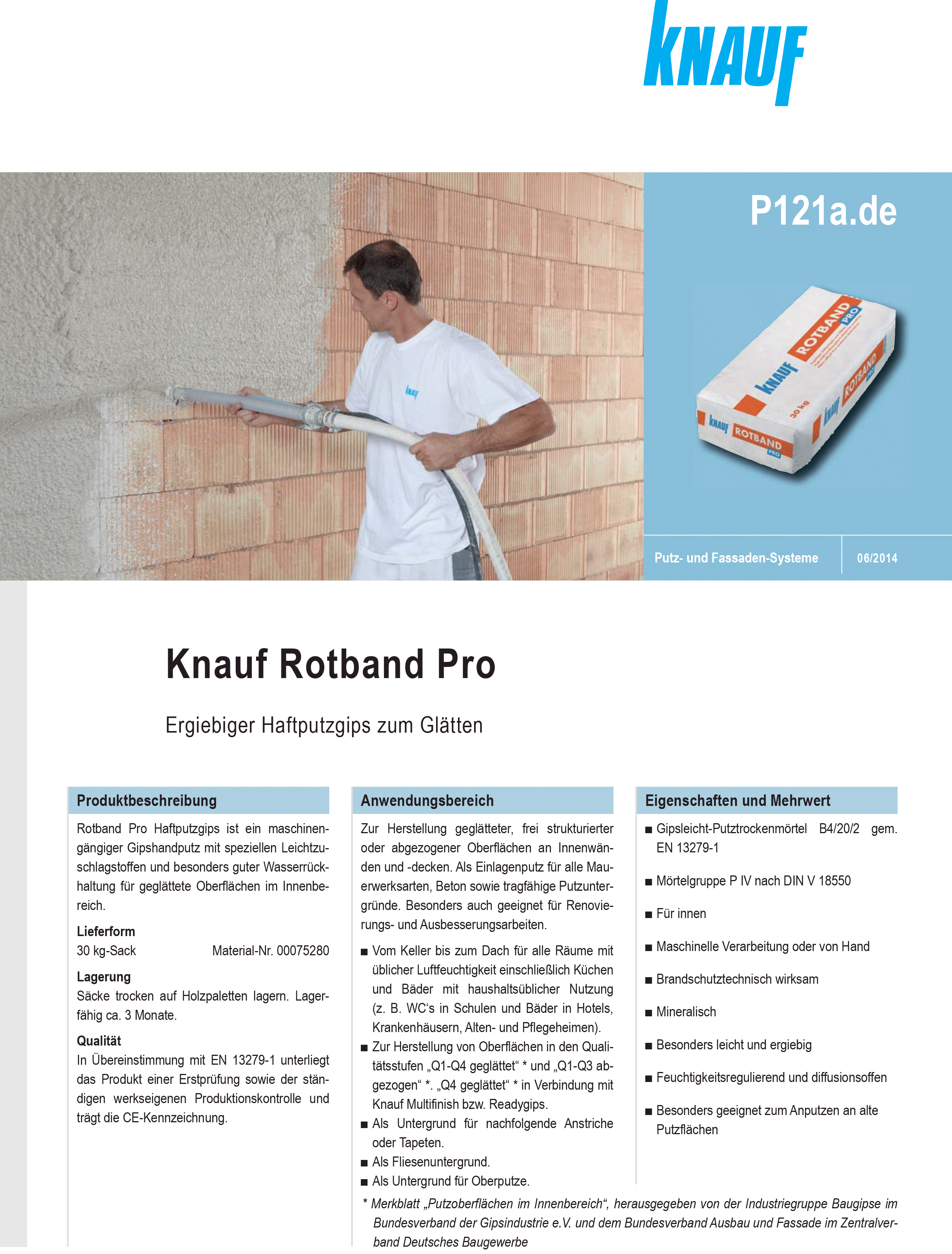 rotband pro | bego-putz